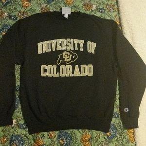 University of Colorado Boulder Crewneck Sweatshirt